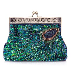 Unique Sparkling Glitter Clutches (012026247)