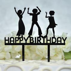 Buon compleanno Acrilico Decorazioni per torte (119156945)