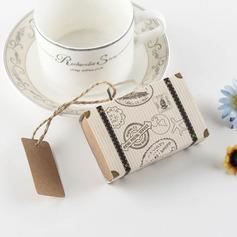 Créatif/Style Classique/Charmant Autre Lin/papier Boîtes cadeaux (Lot de 12) (050173156)