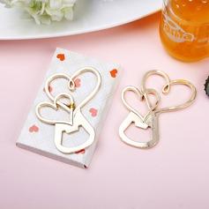 Cœur sans cœur En forme de coeur En alliage de zinc Ouvre-bouteilles (Lot de 4) (051205234)