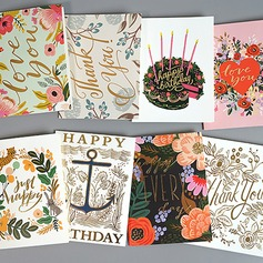 Modern Style/Floral Style Side Fold Birthday Cards/Thank You Cards/Greeting Cards (114205167)