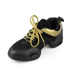 Women's Men's Unisex Leatherette Flats Sneakers Practice Dance Shoes (053012961)