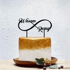 personnalisé Couple classique Acrylique Décoration pour gâteaux (119202093)