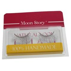 Faserwimpern 1 Paar Helle Dick Lange Shimmer Flocke Stil CFE271 Make-up Accessoires (046049096)
