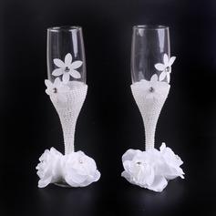 Design simple/Style Classique Flûtes à champagne avec Arc en ruban (126199816)