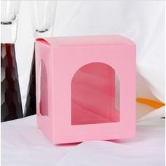 Bella Cubi Scatole di Favore con Finestra (set di 12) (050025896)