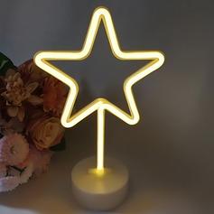 Disegno della stella Bella Plastica Luci a LED (Venduto in un unico pezzo) (131167200)