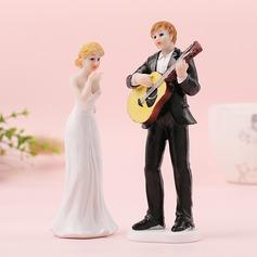 Coppia Classic/Sposa e Sposo Resina Decorazioni per torte (Venduto in un unico pezzo) (119187424)