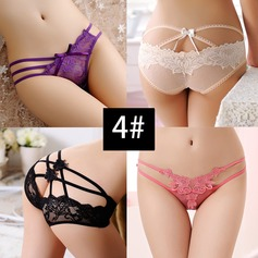 Lace Bridal Panties (Set of 4, Random color) (041117000)