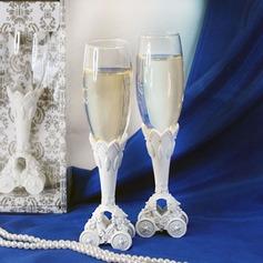 Cuento de hadas de la boda entrenador Flautas tostado (126032345)