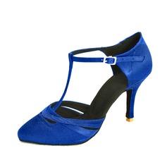 Donna Raso Tacchi Stiletto Sala da ballo con Con Listino a T Scarpe da ballo (053047608)