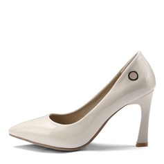 Donna Similpelle Tacco a spillo Stiletto Punta chiusa scarpe (085168423)