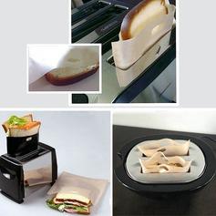 personnalisé Traite des sacs à griller réutilisables sans bâche pour le sandwich et le grillage (Lot de 2) (051139888)