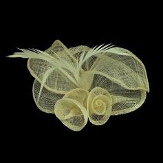 Glamourous Net Yarn Flowers & Feathers (042050431)