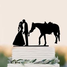 Coppia Classic/Mr & Mrs Acrilico Decorazioni per torte (Venduto in un unico pezzo) (119187347)