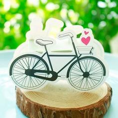 A forma di bicicletta Carta della carta Scatole di Favore (set di 12) (050154084)