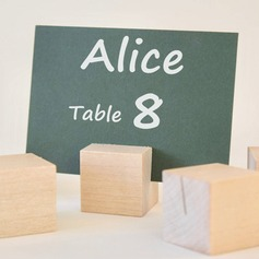 Stile classico Legno Titolari di carta di luogo (Set di 4) (051155709)