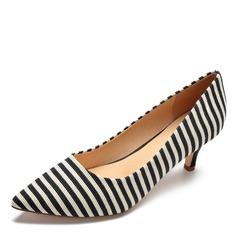 Donna Tessuto Tacco a spillo Stiletto scarpe (085175381)
