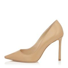 Donna PU Tacco a spillo Stiletto Punta chiusa scarpe (085153102)