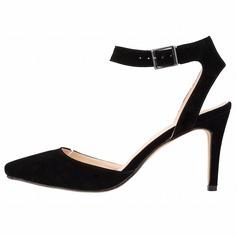 Donna Camoscio Tacco a spillo Stiletto Punta chiusa scarpe (085113516)