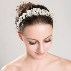 Gorgeous Alloy/Imitation Pearls Tiaras (042060953)