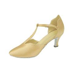 Donna Raso Tacchi Stiletto Sala da ballo con Con Listino a T Scarpe da ballo (053013229)