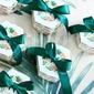 Créatif/Charmant Carte papier Boites de faveur et conteneurs avec Rubans (Lot de 20) (050203436)