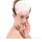 Ladies ' Smukke/Gorgeous/Efterspurgte/Særlige Linned med Blomst Strand / Sun Hatte (196139410)