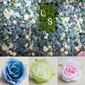Hermoso Pretty Seda Flores artificiales (Conjunto de 50) (131174662)