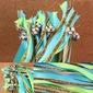 5/8-Pouce Multicolore Ruban en satin (Lot de 10) (127033109)