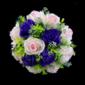Klassische Rund Satin Brautsträuße (123031419)