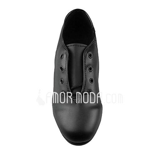 Women's Men's Unisex Leatherette Heels Tap Dance Shoes (053013333)