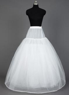 Women Nylon/Tulle Netting Floor-length 8 Tiers Petticoats (037031002)