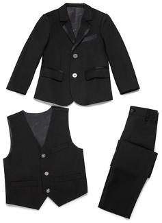 Boys 3 Pieces Elegant Ring Bearer Suits /Page Boy Suits With Jacket Vest Pants (287199773)