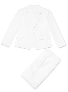 Boys 2 Pieces Solid Ring Bearer Suits /Page Boy Suits With Jacket Pants (287199756)