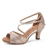 Real Leather Heels Latin Dance Shoes (053200546)