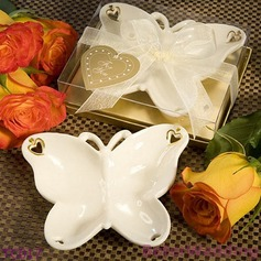 Porcelain Butterfly Candy Dish and Candle Holder (Sold in a single piece) (051145113)