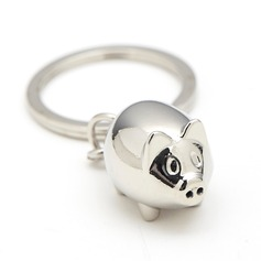 Personalized Cute Animal Stainless Steel Keychains (051204436)