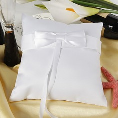 Ring Pillow in Satin With Ribbons/Bow (103018432)