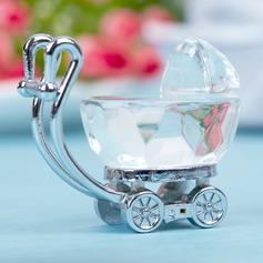 Baby Carriage Zinc Alloy/Crystal Keepsake (051024921)