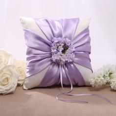 Цветочный дизайн Кольцо подушки в Атлас (103022565)