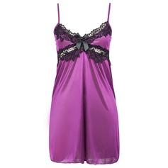 Lycra/Spandex Simple And Elegant Feminine Sleepwear/Bridal Lingerie (041062973)