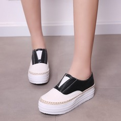 Women's Leatherette Wedge Heel Closed Toe Wedges With Chain Others shoes (086119380)