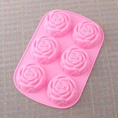 Rose Design Silicone Cake Mould (051053250)