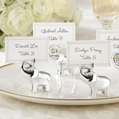 Lovely Elephant Resin Place Card Holders (Set of 6) (051050527)