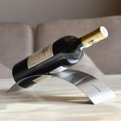 Creative Arch Bridge Shape Stainless Iron Bottle Holder / Wine Rack (052095646)