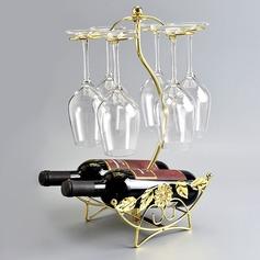 Vintage Classic Iron Wine Rack (203199465)